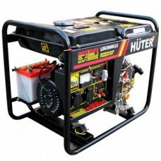 Дизельный генератор HUTER LDG3600CLE+ масло