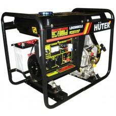 Дизельный генератор HUTER LDG5000CLE+ масло 10 л.